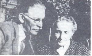 Sáfáry László szülei (Sáfáry József és Gáthy Mária)